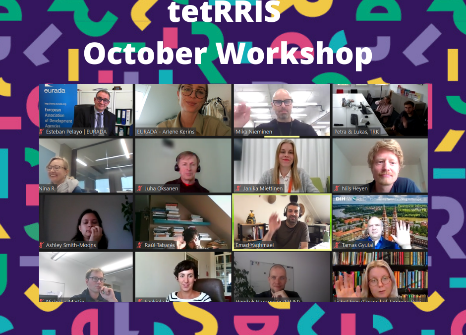 tetRRIS Workshop: a virtual space to exchange RRI experiences